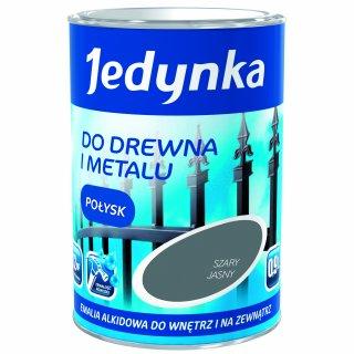 Farba do drewna i metalu Jedynka 0,9L szary jasny TIKKURILA