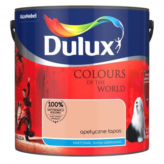 Farba do wnętrz Apetyczne Tapas 2,5L Kolory świata DULUX