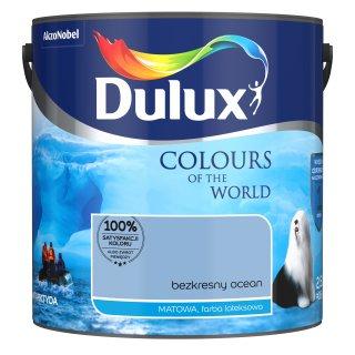 Farba do wnętrz Bezkresny Ocean 2,5L Kolory świata DULUX