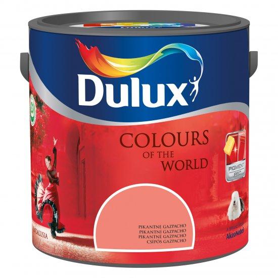 Farba do wnętrz Pikantne Gazpacho 2,5L Kolory świata DULUX