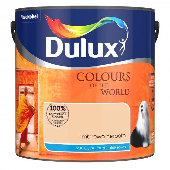Farba do wnętrz Imbirowa Herbata 2,5L Kolory świata DULUX