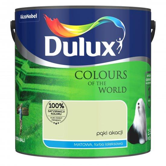 Farba do wnętrz Pąki Akacji 2,5L Kolory świata DULUX