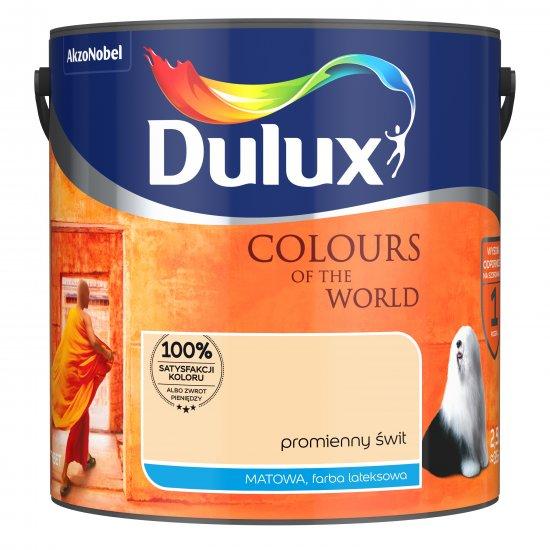 Farba do wnętrz Promienny świt 2,5L Kolory świata DULUX