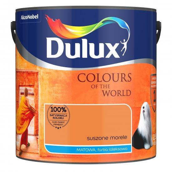 Farba do wnętrz Suszone Morele 2,5L Kolory świata DULUX