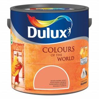 Farba do wnętrz Szafranowe Szaty 2,5L Kolory świata DULUX