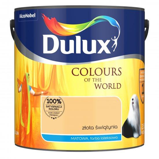 Farba do wnętrz Złota świątynia 2,5L Kolory świata DULUX