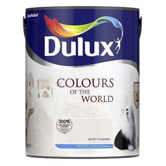 Farba do wnętrz Garść Muszelek 5L Kolory świata DULUX