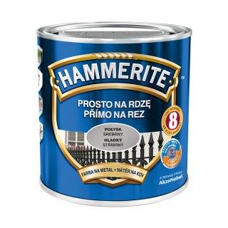 Farba na rdzę połysk srebrny 0,7 L Hammerite AKZO