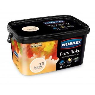 Farba do ścian i sufitów  jesień pieczarkowa 5L  NOBILES