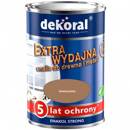Emalia ftalowa EMAKOL STRONG kawowy jasny 0,9l DEKORAL