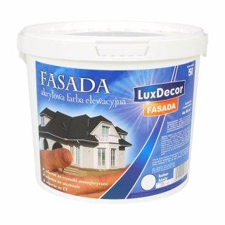 Farba fasadowa Luxdecor 10l biała PRIMACOL