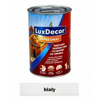 Imregnat do drewna Luxdecor biały 1l PRIMACOL