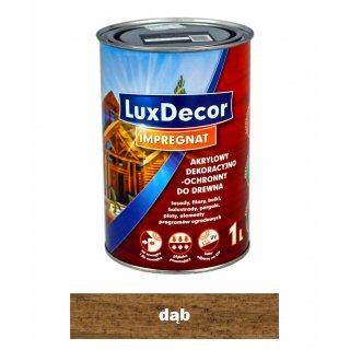 Imregnat do drewna Luxdecor dąb 1l PRIMACOL