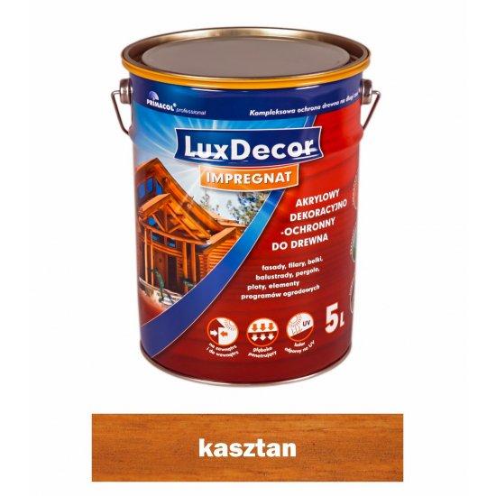 Imregnat do drewna Luxdecor kasztan 5l PRIMACOL