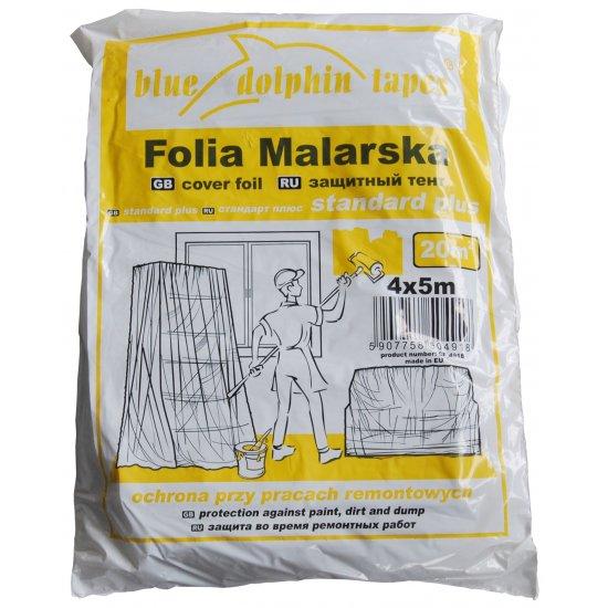 Folia malarska 4mx5mBLUEDOLPHIN