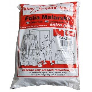 Folia malarska extra gruba CF_04956 4mx5m BLUEDOLPHIN