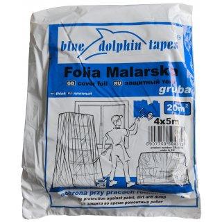 Folia malarska gruba CF_04932  4mx5m BLUEDOLPHIN
