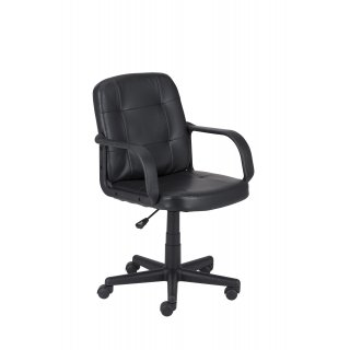 Fotel biurowy Riva czarny NOWY STYL