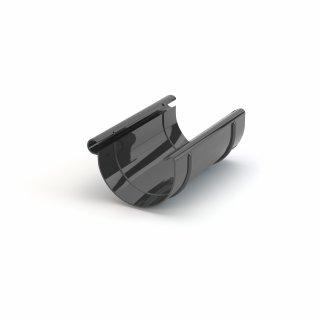 Złączka rynnowa fi125 grafit GAMRAT