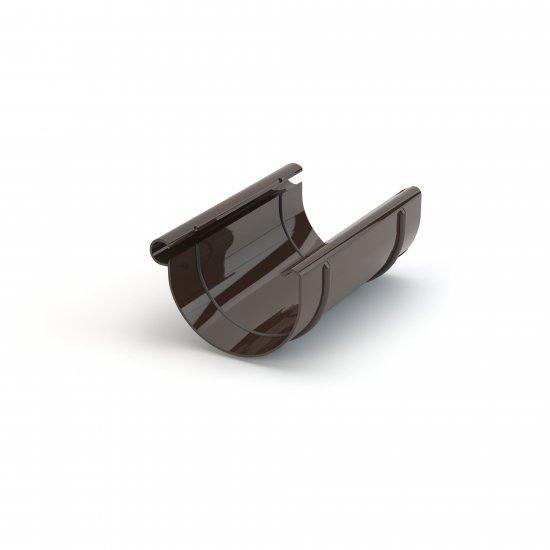 Złączka rynnowa fi 150 ciemny brąz GAMRAT