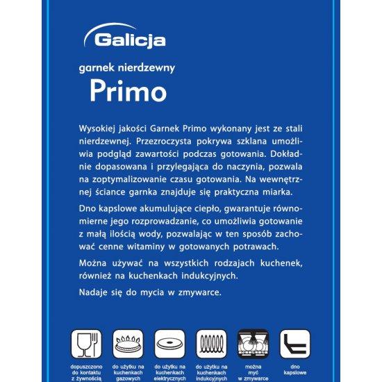 Garnek Primo 3,4 L GALICJA