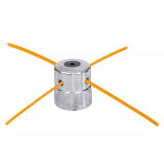 Głowica aluminiowa do kos spalinowych, 4 żyłki 34 cm NAC