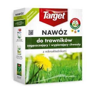 Granulat do trawników zageszczający i wypierający chwasty z mikroskładników 1 kg TARGET