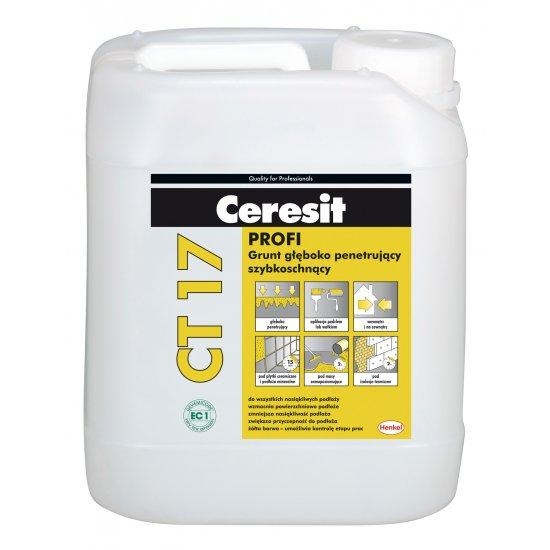 Grunt głębokopenetrujący Ceresit CT17 5 L HENKEL