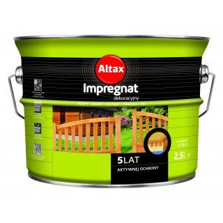 Impregnat do drewna 2,5 L orzech ALTAX