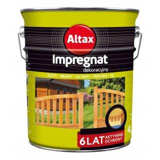 Impregnat do drewna 4,5 L brąz ALTAX