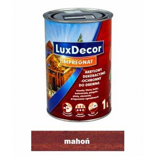Imregnat do drewna Luxdecor mahoń 1l PRIMACOL