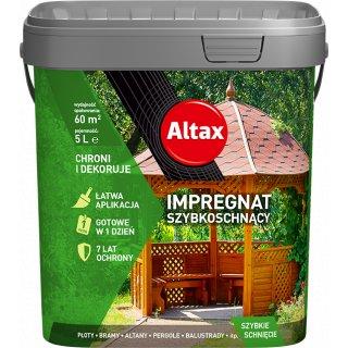 Szybkoschnący impregnat dekoracyjny szary 5l ALTAX