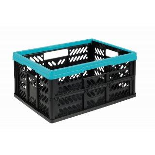 Kosz składany Klappbox 32l niebieski KEEEPER