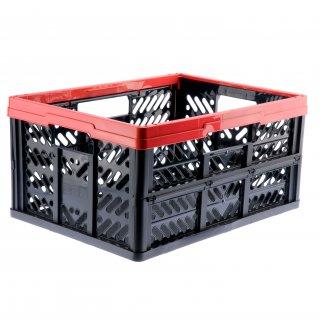 Kosz składany Klappbox 32l czerwony KEEEPER