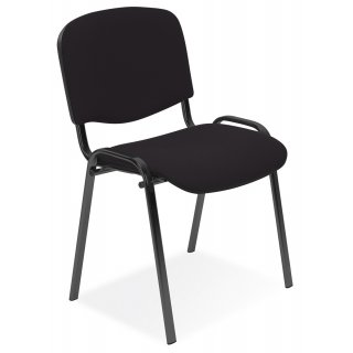 Krzesło biurowe konferencyjne Iso czarny NOWY STYL