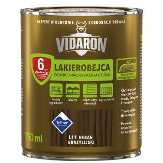 Lakierobejca do drewna heban brazyl. 0,75 L Vidaron ŚNIEŻKA