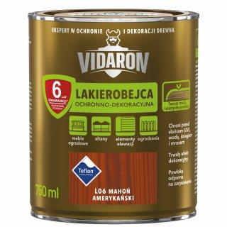 Lakierobejca do drewna mahoń ameryk. 0,75 L Vidaron ŚNIEŻKA