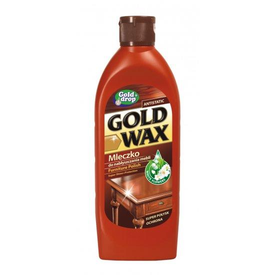Mleczko do pielęgnacji mebli 250 ml GOLD WAX