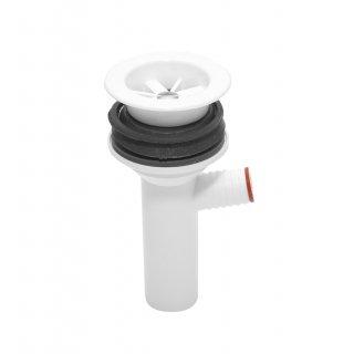 Montaż syfonu umywalki z wyjściem do pralki/zmywarki TYCNER