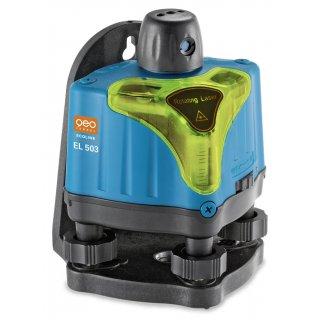 Niwelator laserowy manualny EL 503 zestaw R26-easy geo-FENNEL