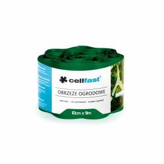 Obrzeża ogrodowe ciemna zieleń 10x9cm CELL-FAST