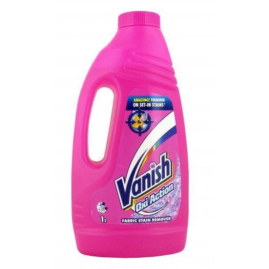 Odplamiacz w płynie 1 L oxi action VANISH