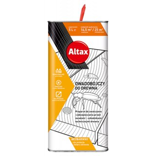 Preparat owadobójczy do drewna 5l ALTAX