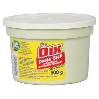 Pasta BHP do mycia rąk 500 g cytryna DIX