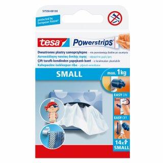 Plastry samoprzylepne Powerstrips 14 szt. małe do 1 kg TESA