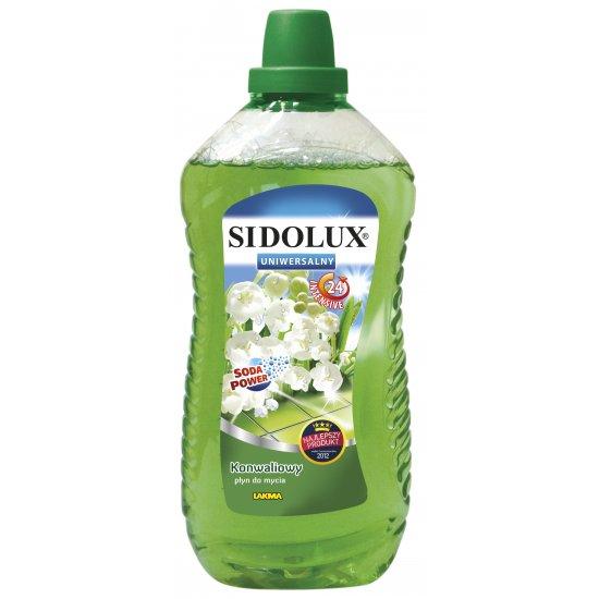 Uniwersalny płyn do mycia 1 L konwalia SIDOLUX