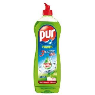 Płyn do mycia naczyń 900ml APPLE PUR