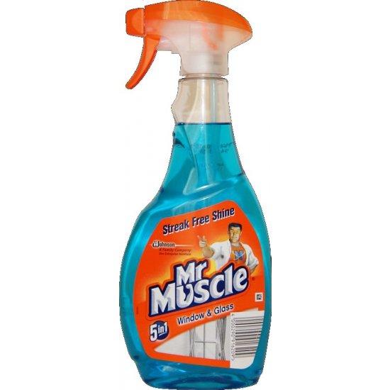 Płyn do szyb 500 ml niebieski MR MUSCLE