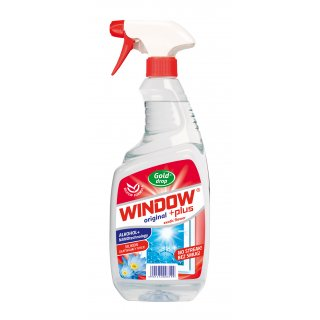 Płyn do szyb 750ml rozpylacz WINDOW PLUS NANOTECHNOLOGIA