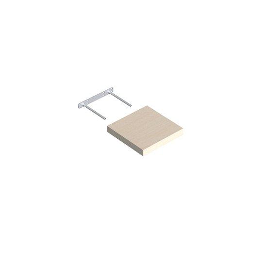 Półka samowisząca dąb bielony 23,5x23,5 cm VELANO